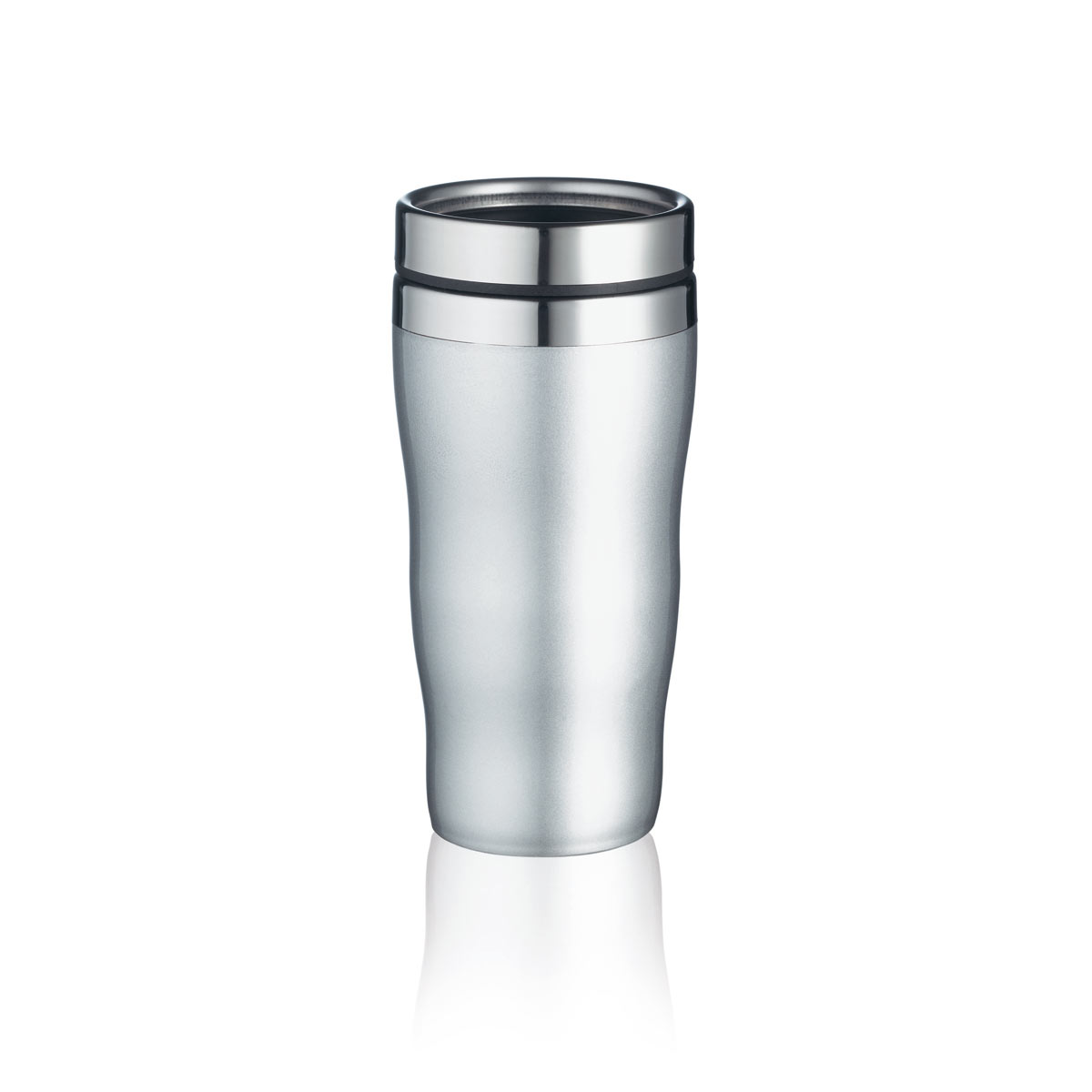 Mug thermos cafe publicitaire mug inox bouteille for Thermos caffe