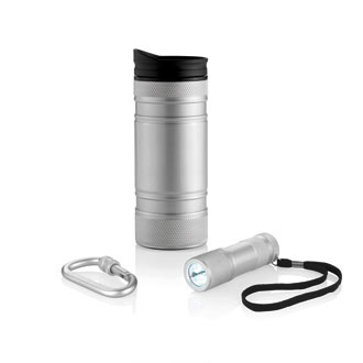 mug isotherme - set bouteille thermos publicitaire
